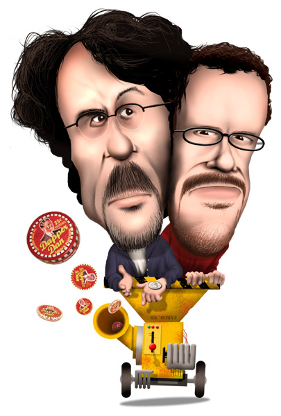 Coen Brothers caricature