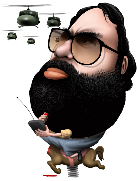 Francis Ford Coppola caricature