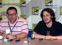 Edgar Wright interview, Nick Frost interview, Hot Fuzz interview