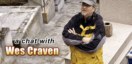 A Chat with Wes Craven, Wes Craven interview, Director of Paris Je T'aime