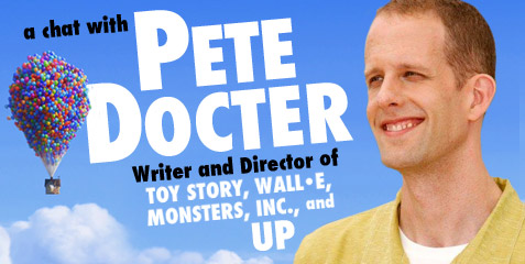 pete docter contact