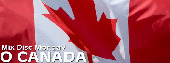 O Canada Mix, Candadian songs