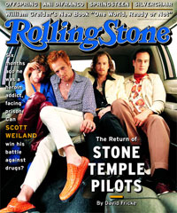 Stone Temple Pilots on Rolling Stone cover