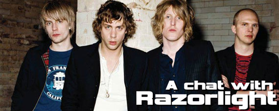 A chat with Razorlight
