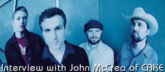 John McCrea interview, CAKE Interview, CAKE B-Sides and Rarities Interview