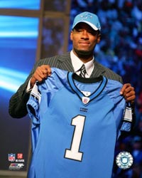 Calvin Johnson drafted #2 by Detroit Lions