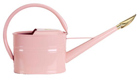 Smith & Hawken's pink watering can