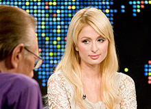 Paris Hilton on Larry King Live