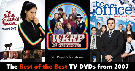 The best TV DVD's of 2007