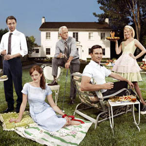 A Mad Men picnic