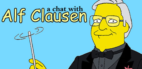 A chat with Alf Clausen