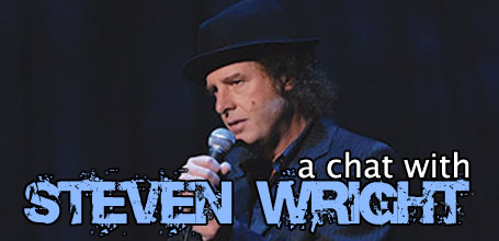 A chat with Steven Wright