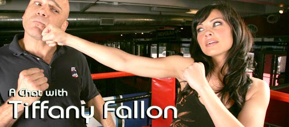 Tiffany Fallon interview, IFL Battleground interview
