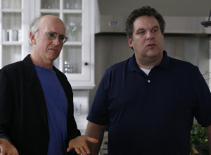 Jeff Garlin interview, Curb Your Enthusiasm
