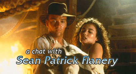 A Chat With Sean Patrick Flanery Sean Patrick Flanery Interview Young Indiana Jones Bullz Eye Com