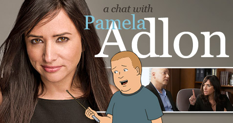 Pamela Adlon as bobby hill