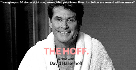 David Hasslehoff interview.
