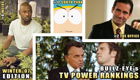 Bullz-Eye's TV Power Rankings: Winter 2007 Edition
