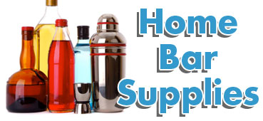 home bar supplies and accessories