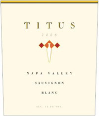 Titus Vineyards 2009 Sauvignon Blanc