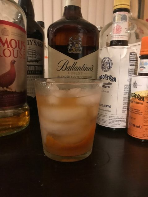 The Scotch Old Fashioned mixed drink