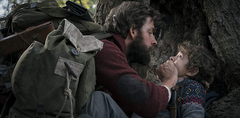 "John Krasinski in ""A Quiet Place"""