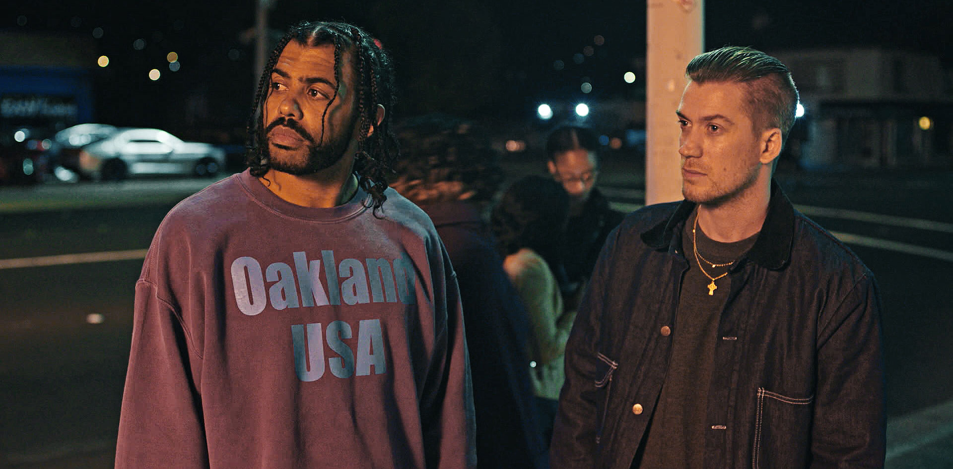 "Daveed Diggs and Rafael Casal in ""Blindspotting"""