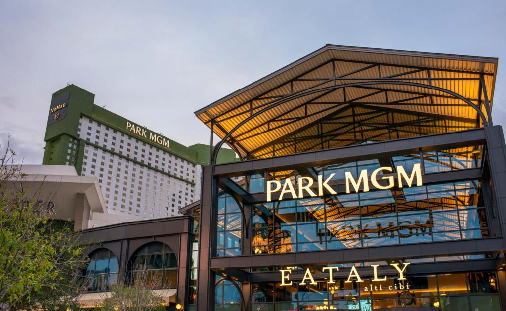 Eataly Las Vegas at Park MGM outside view