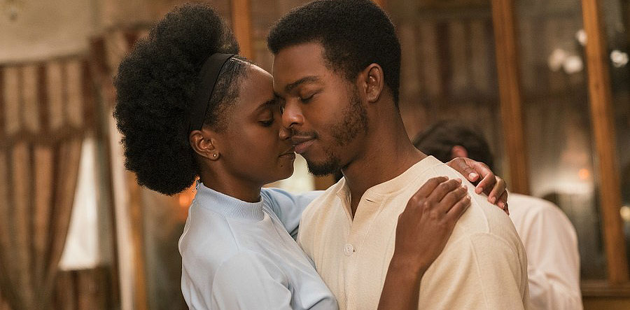 "KiKi Layne and Stephan James in ""If Beale Street Could Talk"""