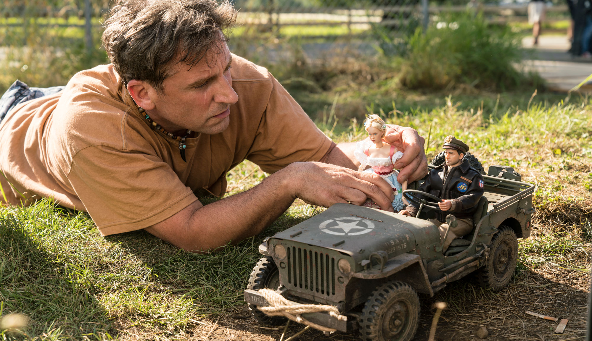 "Steve Carell in ""Welcome to Marwen"""