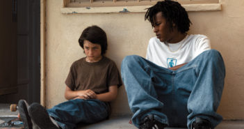 "Sunny Suljic and Na-kel Smith in ""Mid90s"""