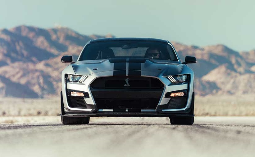 2020 Mustang Shelby GT500 front view