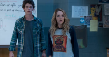 "Jessica Rothe and Israel Broussard in ""Happy Death Day 2U"""