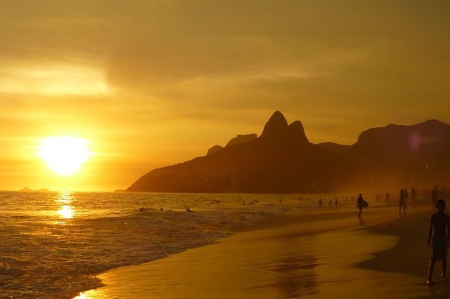 Ipanema Brazil beach