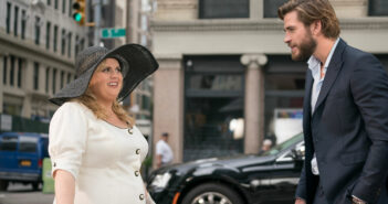 "Rebel Wilson and Liam Hemsworth in ""Isn't It Romantic"""