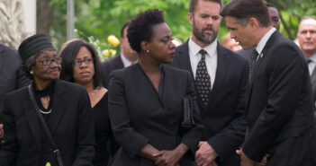 "Viola Davis and Colin Farrell in ""Widows"""