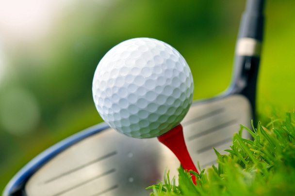 golf ball and golf club head