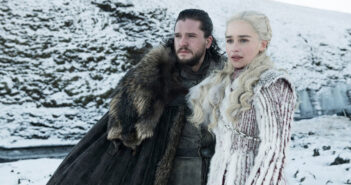 "Kit Harington and Emilia Clarke in ""Game of Thrones"""