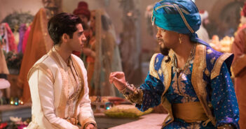 "Mena Massoud and Will Smith in ""Aladdin"""