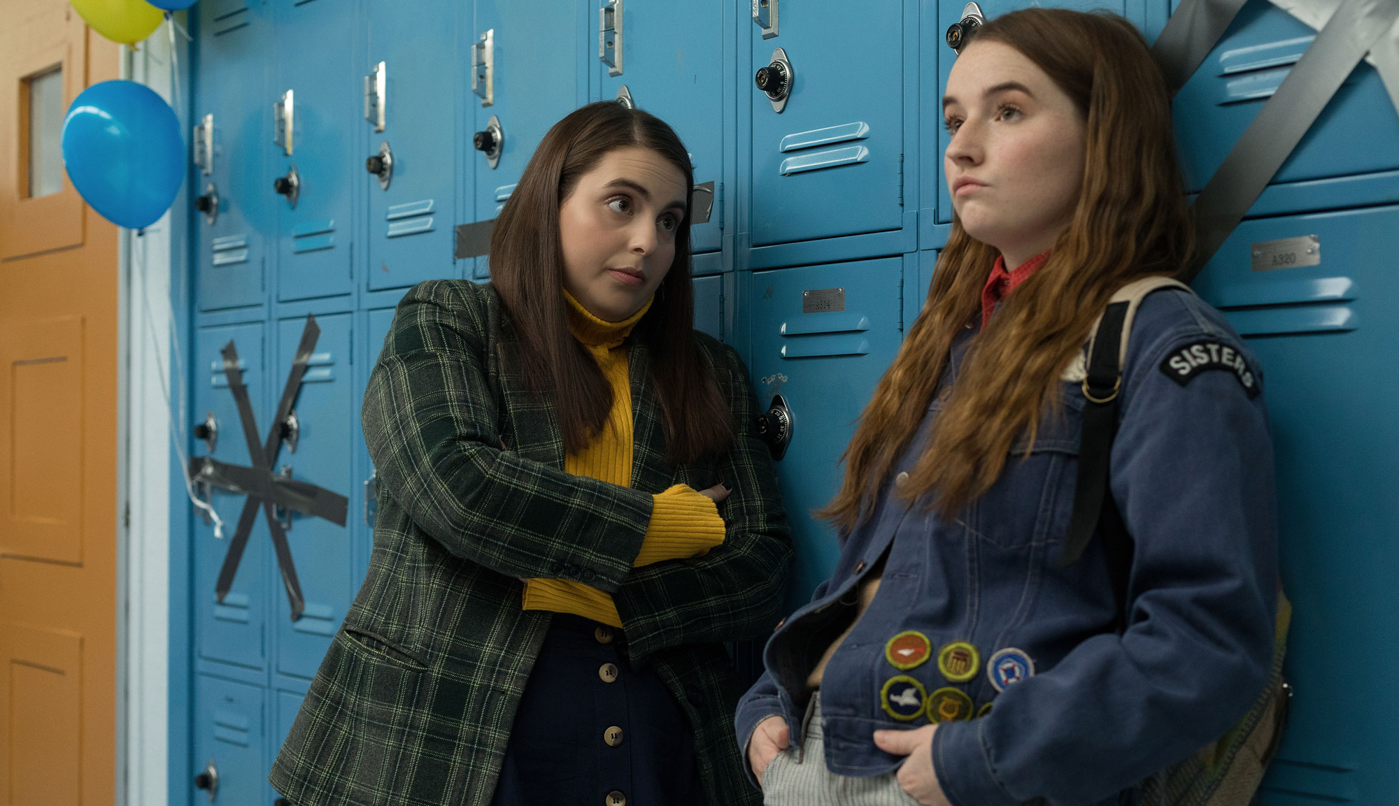"Beanie Feldstein and Kaitlyn Dever in ""Booksmart"""