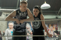 """Florence Pugh and Jack Lowden in """"Fighting With My Family"""""""