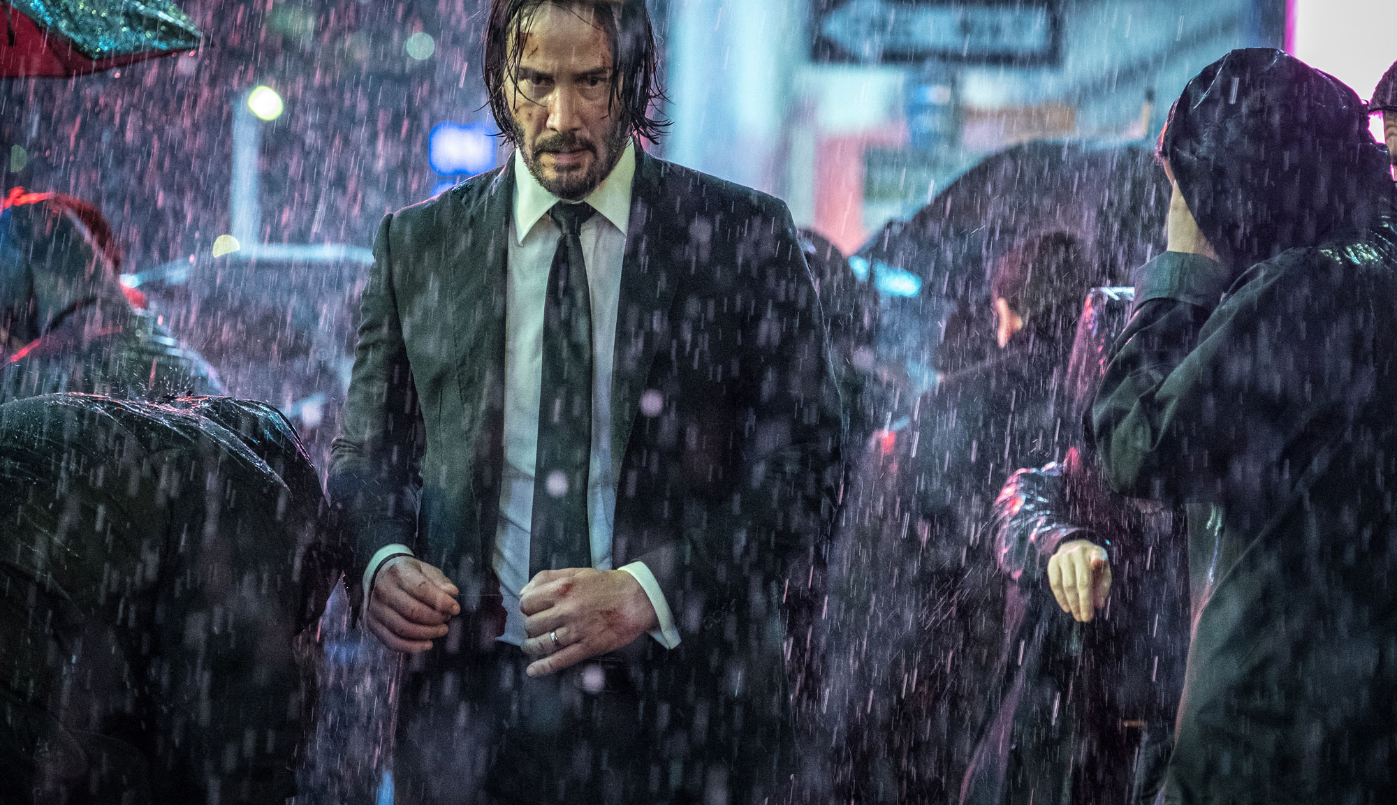 "Keanu Reeves in ""John Wick: Chapter 3"""