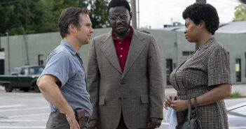 "Sam Rockwell and Taraji P. Henson in ""The Best of Enemies"""
