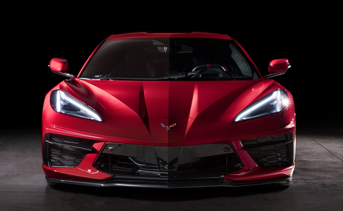 front view of 2020 Chevrolet Corvette Stingray