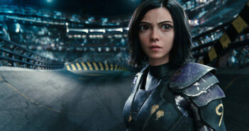 "Rosa Salazar in ""Alita: Battle Angel"""