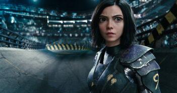 "Rosa Salazar in ""Alita: Battle Angel"""