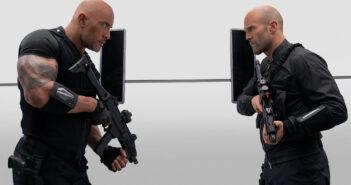 "Dwayne Johnson and Jason Statham in ""Hobbs & Shaw"""