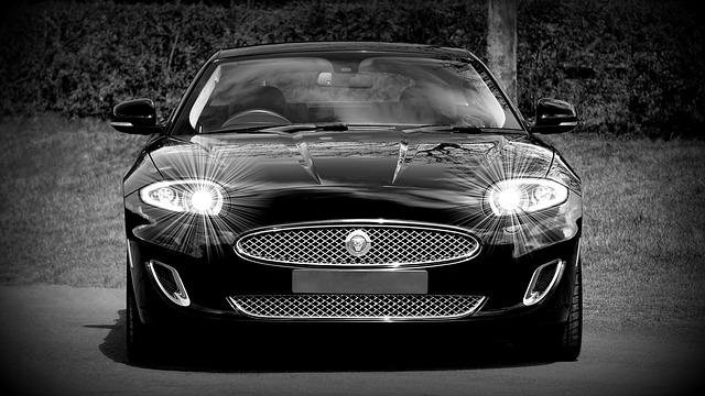 jaguar car front view