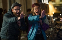 """Seth Rogen and Charlize Theron in """"Long Shot"""""""