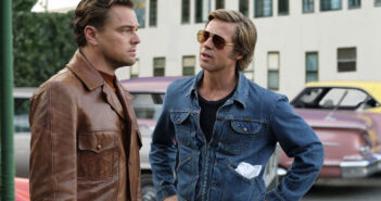 "Leonardo DiCaprio and Brad Pitt in ""Once Upon a Time in Hollywood"""